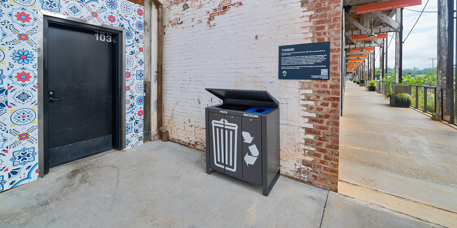Lexicon Waste & Recycling Unit at Camp North End