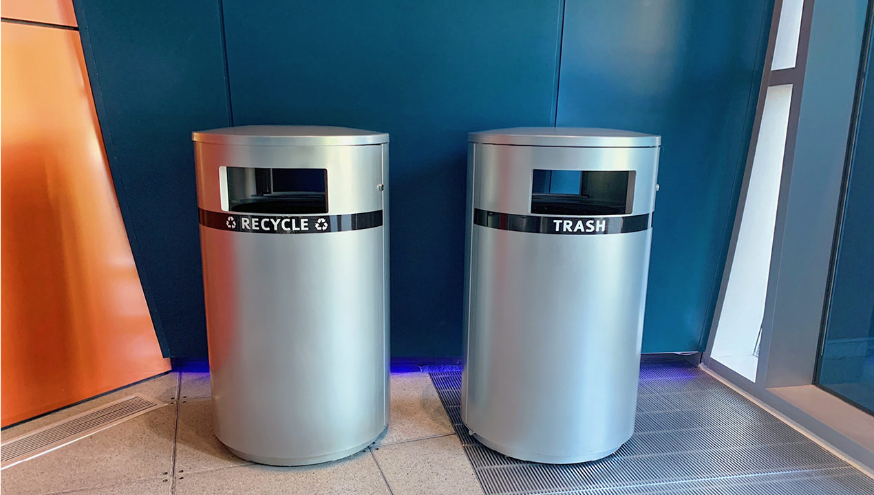 Recycling and Trash Units